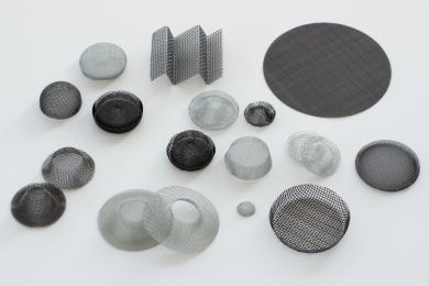 Filtri metallici in rete