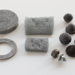 Knitted mesh filters